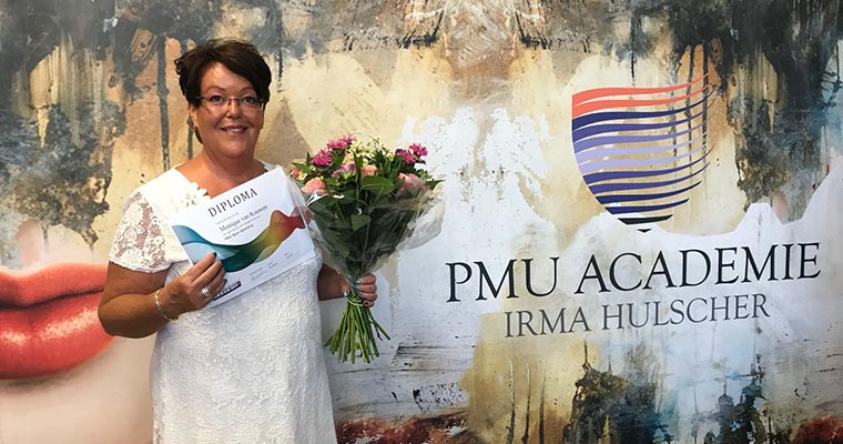 PMU diploma uitreiking Monique